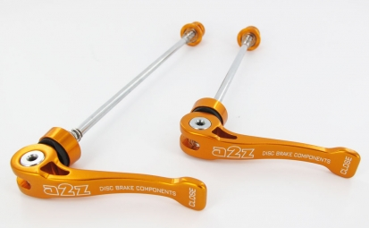 A2Z Quick Clamps axis cromo Orange