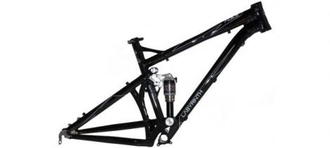 LABYRINTH Framework AGILE 26'' Size L Black 2012 Revelation 150 mm
