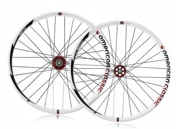 2012 AMERICAN CLASSIC MTB Wheelset 26 Tubeless Disc 9mm White