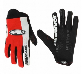 Answer Gants Fall Line DH rouge Taille S