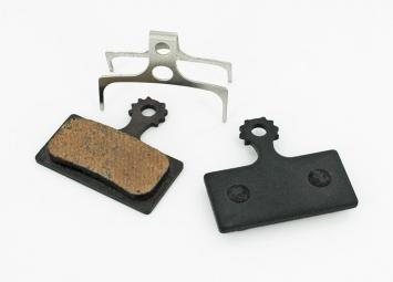 Ashima paire de plaquettes shimano xtr m985 xt m785 slx m675 semi metalliques