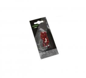 ASHIMA Kit 12 vis pour disques Rouge