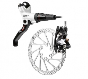 2011 X9 Avid Elixir Carbon Rear Brake White / Black + Disc 160 mm PM / IS
