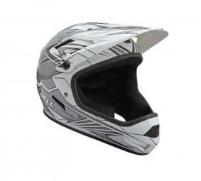 BELL SANCTION 2011 Helmet White / Silver Size M
