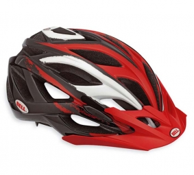 BELL Casque 2010 SEQUENCE Noir Rouge Taille M