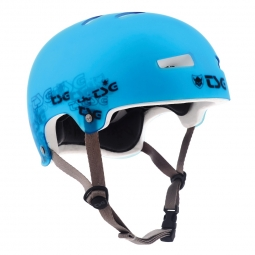TSG Casque Bol EVO SPECIAL MAKEUP Clear Blue Taille L/XL