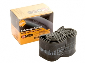 CONTINENTAL Inner Tube SUPERSONIC 26 x 1.75/2.10'' Schrader