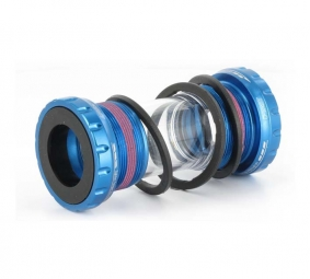 First Components GXP Bottom Bracket - 68/73mm Blue