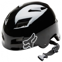 FOX HARD TRANSITION 2011 Black Helmet Size M (55-58 cm)