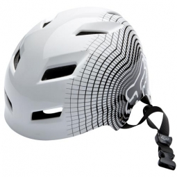 FOX Helmet HARD TRANSITION 2011 White / Black Size M (55-58 cm)