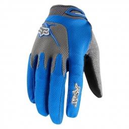 FOX PROMO 2011 Gants REFLEX Bleu longs Taille M
