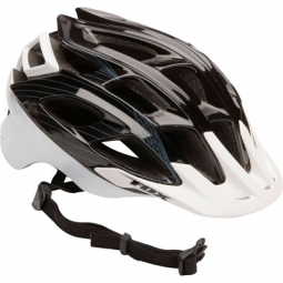 FOX STRIKER 2011 PROMO Helmet Black / White Size L / XL (59-64 cm)