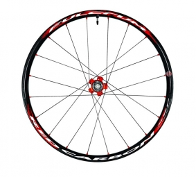 Fulcrum Red Carbon XRP Wheelset Records 6TR 26'' 9mm