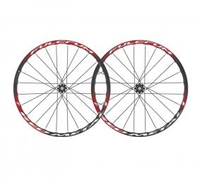 FULCRUM Red Metal 1 Paire de roues Noires Disque 6TR 26'' 9mm