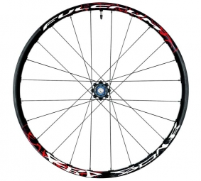 Fulcrum Red Zone Disc Rear Wheel Black 6TR x135/142 12 mm