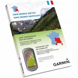 Garmin TOPO France SUD-EST DVD + Carte Micro SD pré chargée