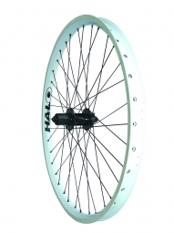 Halo combat ii roue arriere blanche disque 6tr 26 9 mm
