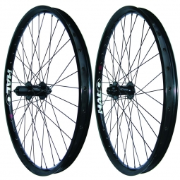 HALO COMBAT II Wheelset Black Disc 6TR 26'' 9 mm