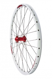 HALO 2012 Front Wheel CHAOS White 9/20 mm / Hub Spin Doctor