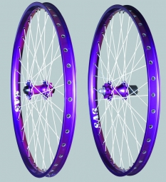 Halo SAS Wheelset Violets disk 6TR 26'' AV 9/20 mm AR 10mm