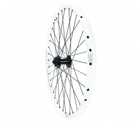 Halo t2 racing roue arriere blanche disque 6tr 26 9mm 32 rayons