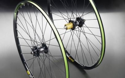 HOPE 2011 Paire de roues Pro 2 EVO HOOPS / MAVIC 521 26'' Disque 6TR 9mm/20mm