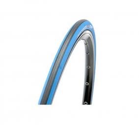 Hutchinson pneu route atom comp 700 x 23 noir bleu souple renforce