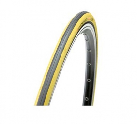 hutchinson pneu route atom comp 700 x 23 noir jaune souple renforce