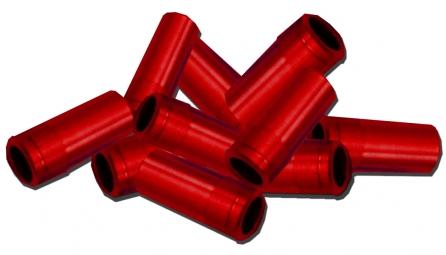 ICE Embouts de gaine rouge
