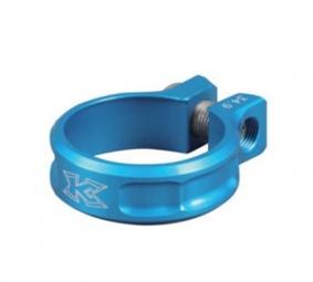 kcnc collier de selle ecrou sc11 bleu 34 9