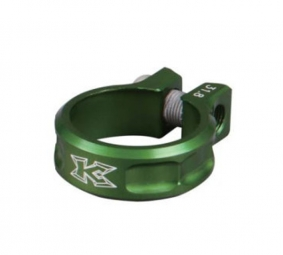kcnc collier de selle ecrou sc11 vert 31 8