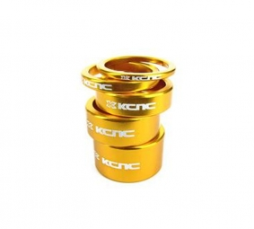 KCNC Kit Entretoises Direction Alu 1''1/8 Or 3/5/10/14/20 mm