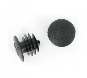 LIZARD SKINS bar ends Black