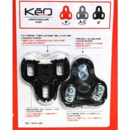 Look Keo Bi Material Cleats - 0° Black