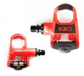 LOOK Paire de Pédales KEO CLASSIC Rouge