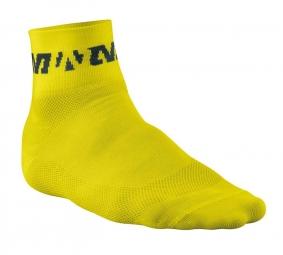 MAVIC Chaussettes Socquettes RACE SOCK jaunes taille 43-46