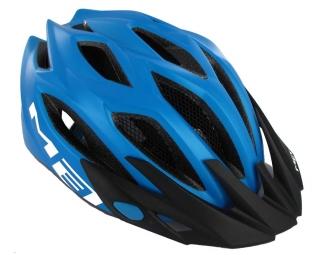 MET 2012 Helmet CROSSOVER Cyan One Size