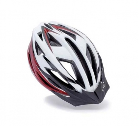 MET Falco Helmet White Red Small size 52-57 cm