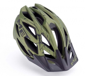 KAOS MET Helmet Green M