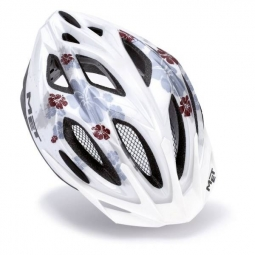 MET Mythos S Helmet Lady White Flowers