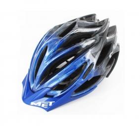 MET Helmet VELENO SIM Blue Size M
