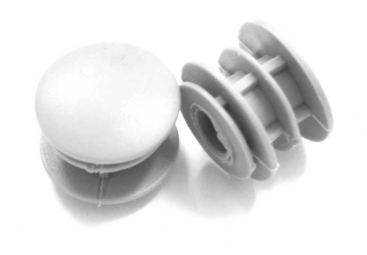 MSC Bar End Plugs - White