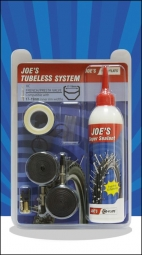 No Flats Joe's Kit de Transformation XC 26-27.5-29'' Tubeless Presta 240ml 17-18mm