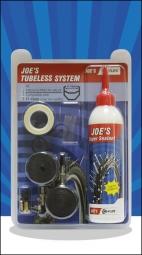 No Flats Joe's Kit de Transformation XC 26-27.5-29'' Tubeless Presta 240ml 17-18mm