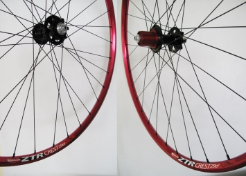 NOTUBES Wheelset ZTR CREST Red 29'' Axis 9 mm