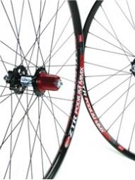 NOTUBES Paire de roues ZTR PODIUM MMX 26'' Axe 9 mm ZTR Titane