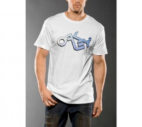 OAKLEY 2011 T-SHIRT RETRO 2.11 TEE Blanc Taille M