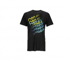 OAKLEY 2011 T-Shirt TURBOCHARGE TEE Noir Taille M