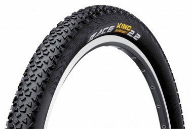 Continental pneu race king 26x2 20 protection black chili souple
