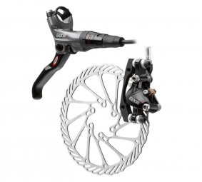 2011 X9 Avid Elixir Carbon Rear Brake Grey / Black + Disque160 mm PM / IS